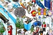 Frozen Pixel Hunt